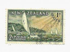 New Zealand 1950 - U - Scott #B39 *
