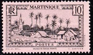 Martinique #138 MH