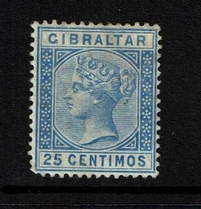 Gibraltar SG# 26, Mint Hinged, Hinge Remnant, Light Surface Staining- Lot 052117