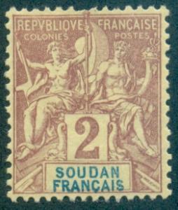 French Sudan #4  Mint  Scott $2.50