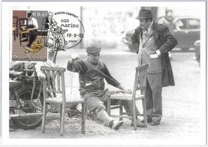 51653   - SAN MARINO -  POSTAL HISTORY: MAXIMUM CARD - 2002 ETHNIC