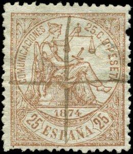 Spain Scott #205 Used