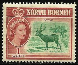 North Borneo 1961 Scott# 280 MH