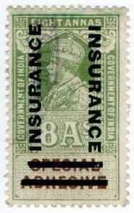 (I.B) India Revenue : Insurance 8a (1921)