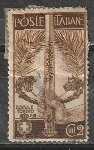 3119 Italy Mint OGH _ tear & thinned - filler only