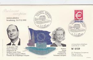 France 1999 European Parliament Seance Solenelle 159/1000 FDC Unadressed VGC