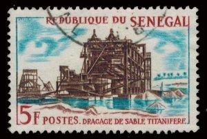 Senegal Scott 230 Used.