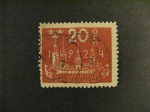 Sweden #200 used  a21.9 3235