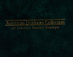 TWO American Heirloom Collection Binders