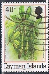CAYMAN ISLANDS 16761 - 1982 40c Flora & Fauna used