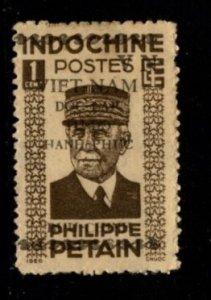 Indo-China -  #217 Marshall Petain - Used