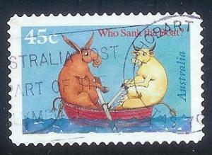 Australia 1549 45c Who Sank the Boat? used