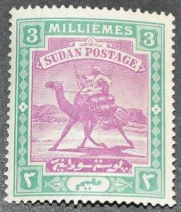 DYNAMITE Stamps: Sudan Scott #19 – MINT hr