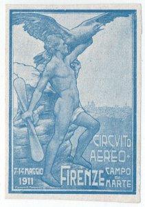 (I.B) Italy Cinderella : Flying Display (Florence 1911)