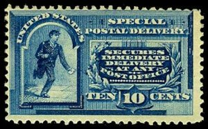 U.S. SPECIAL DELIVERY E2  Mint (ID # 55424)
