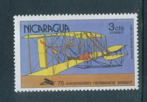 Nicaragua 1091  F-VF  MNH