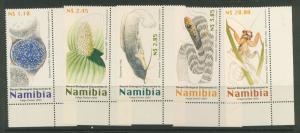 Namibia  SG 936-940  MUH  Corner margins - 2003 issue