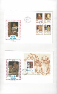 St. Lucia FDC International Year of the Child 1979 Official Cachet