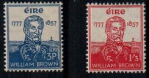 Ireland Scott 161-2 Mint NH (Catalog Value $65.00)