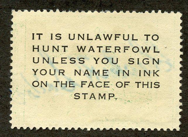 U.S. Scott RW16 1949 Used Hunting Permit Stamp