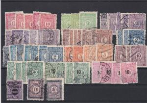 Yugoslavia 1921 Postage Due Stamps  Ref 29692