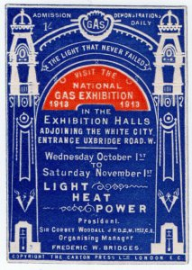 (I.B) Cinderella : National Gas Exhibition (White City 1913)