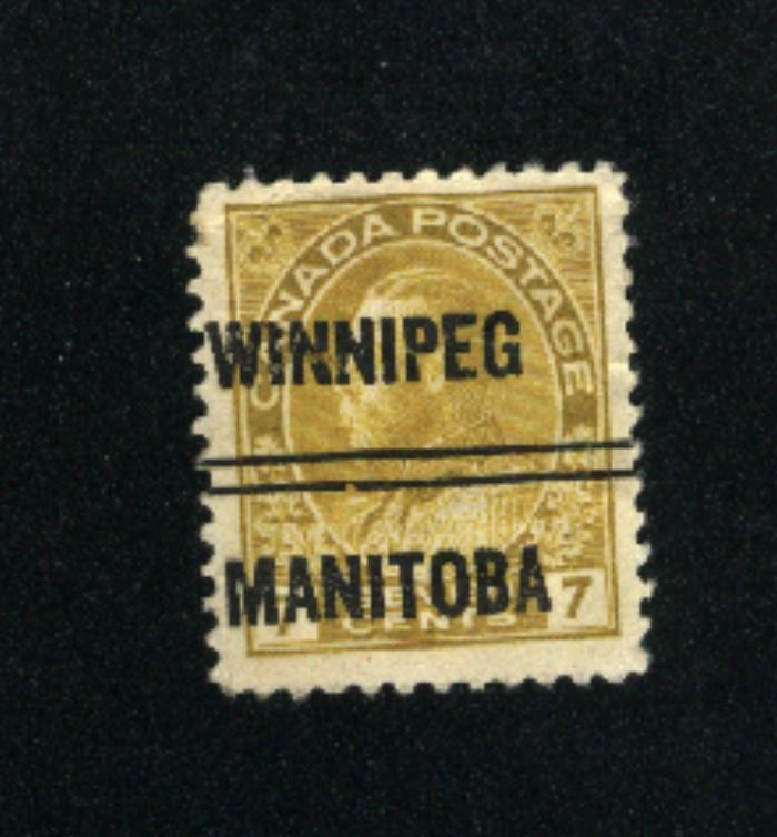 Canada #113xx  -1  used     PD