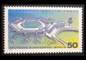 GERMANY OCCUPATION STAMP 1974. SCOTT # 9N349. MINT
