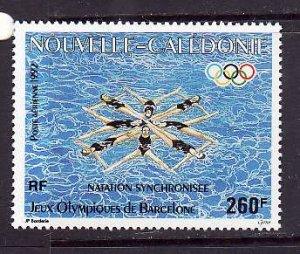 New Caledonia-Sc#C235-Unused NH airmail set-Sports-Olympics-Barcelona-1992-