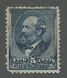 1888 United States Scott Catalog Number 216 Used