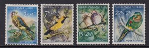 Netherlands Antilles    #B35-B38     MH  1958    birds