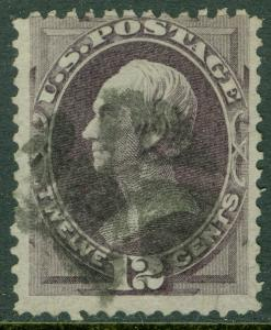 EDW1949SELL : USA 1870 Scott #151 Used. Nice, true color. PSAG Cert. Cat $220.00