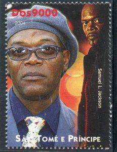 Sao Tome & Principe 2004 Samuel L.Jackson American Actor 1v Perforated Mint (NH)