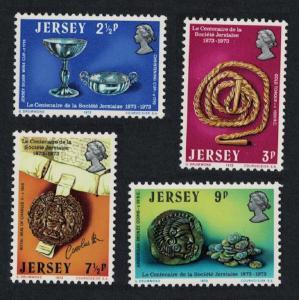 Jersey Coins Centenary of La Societe Jersiaise 4v SG#85-88 MI#77-80