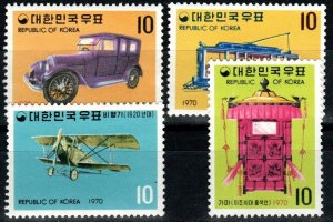 Korea #704-07 MNH CV $10.00 (X9765)