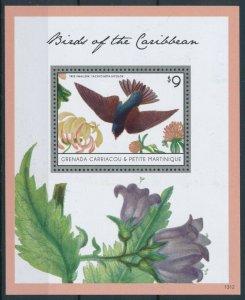 [108772] Gren. Carriacou & Petite Martinique 2013 Bird Tree Swallow Sheet MNH