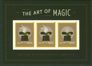 5306 The Art Of Magic Souvenir Sheet Of 3 Stamps Mint/nh FREE SHIPPING