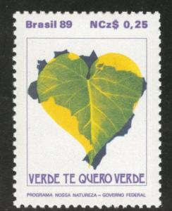 Brazil Scott 2165 MNH** 1989 Environmental Conservation
