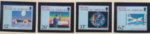 British Antarctic Territory (B.A.T.) Stamps Scott #176 To 179, Mint Never Hin...