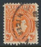 Nigeria  SG 52b  SC# 57  Used 1941 Definitive please see scan