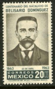 MEXICO 936, Centenary birth of Belisario Dominguez MINT, NH. VF.