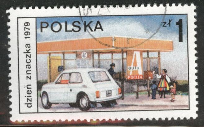 Poland Scott 2359 Used CTO favor canceled stamp 1979