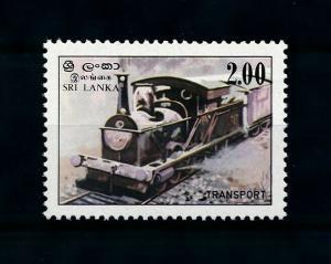 [100630] Sri Lanka 1983 Railway Train Eisenbahn From set MNH