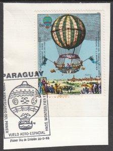 Paraguay, Sc 531 (1), Used, 1983,Baron Von Lutgendorf's 1786