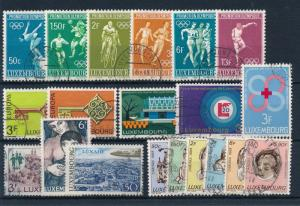 [57874] Luxembourg 1968 Complete Year Set Used