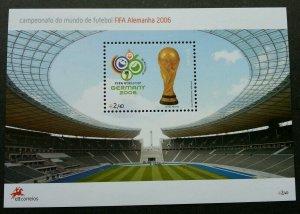 Portugal Germany FIFA World Cup Football 2006 Soccer Stadium Sport (ms) MNH