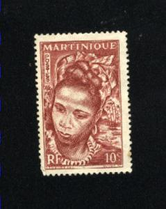 Martinique #217  used 1947 PD