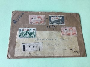 Senegal Mauritanie   stamps cover Ref R22469