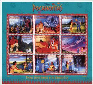Guyana #2950-2951;2985-2590 Disney's Pocahontas See Details