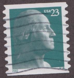 US #3617 Washington Used PNC Single plate #V35